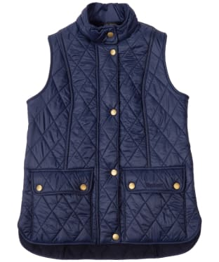 Girl's Barbour Wray Quilted Gilet, 10-15yrs - Navy