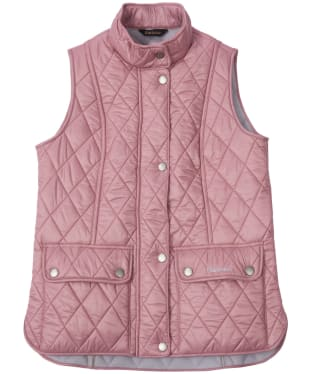 Girl's Barbour Wray Quilted Gilet, 2-9yrs - Rose Bay