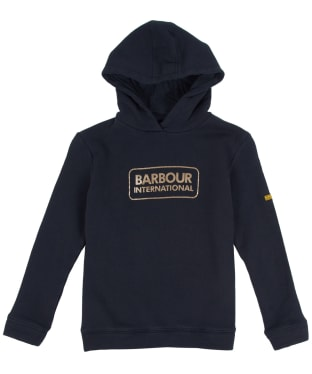 Girl's Barbour International Bowden Hoody, 2-9yrs - Black