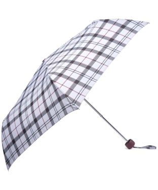 Women's Barbour Portree Umbrella - Grey / Juniper Tartan