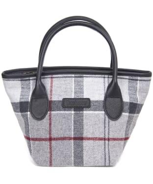 Women's Barbour Tartan Mini Tote Handbag