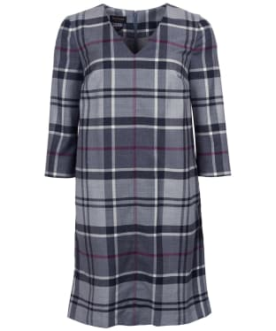 Women's Barbour Isla Dress - Juniper Winter Tartan