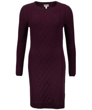 Women's Barbour Tyneside Dress - Aubergine
