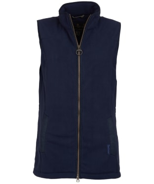 Women's Barbour Dunkeld Fleece Gilet - Navy