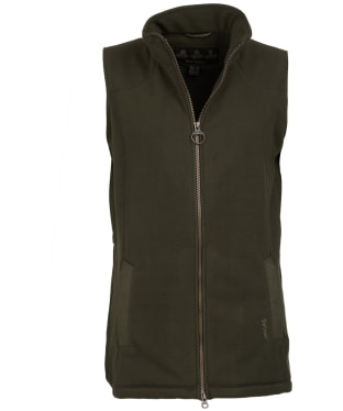 Women's Barbour Dunkeld Fleece Gilet - Olive