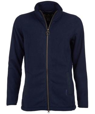 Women's Barbour Stocksfield Fleece Jacket - Navy