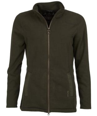 Women's Barbour Stocksfield Fleece Jacket - Olive