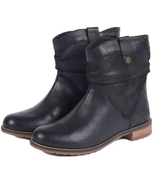 Women's Barbour Insia Ankle Boots - Black