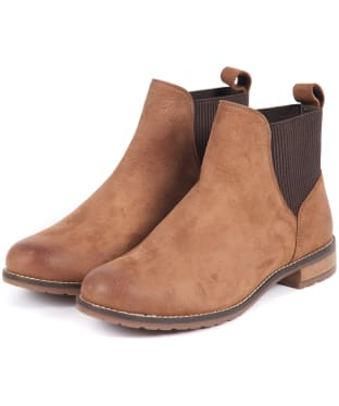 Women's Barbour Hope Chelsea Boots - Tobacco