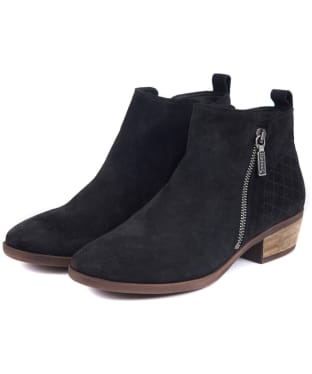 Women's Barbour Una Ankle Boots - Black