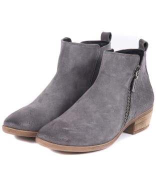 Women's Barbour Una Ankle Boots - Graphite