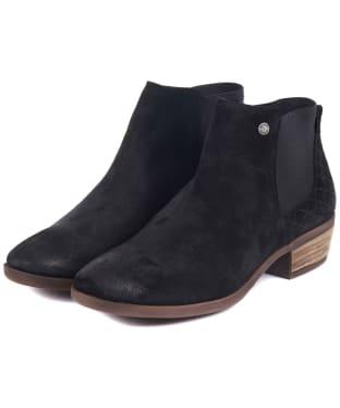 Women's Barbour Vanessa Ankle Boots - Black