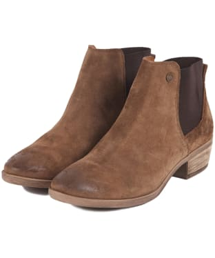 Women's Barbour Vanessa Ankle Boots - Tobacco