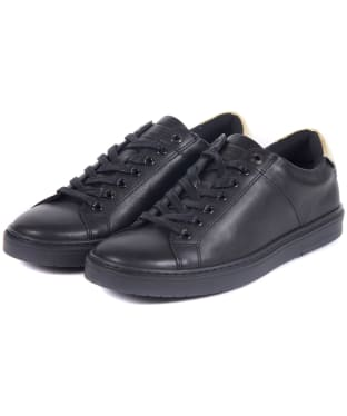 Women's Barbour International Herrera Sneakers - Black / Gold