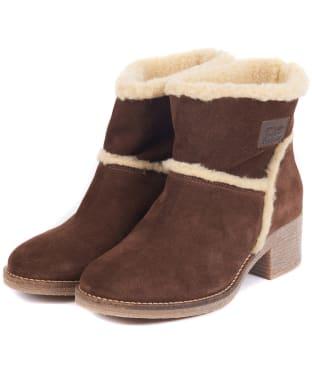 Women's Barbour Frankie Ankle Boots - Dark Brown