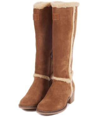 Women's Barbour Molly Boots - Cognac