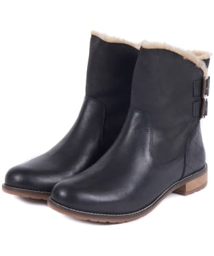 Women's Barbour Jessica Ankle Boots - Black