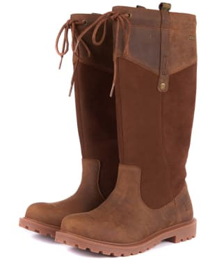 Women's Barbour Ingleton Boots - Brown