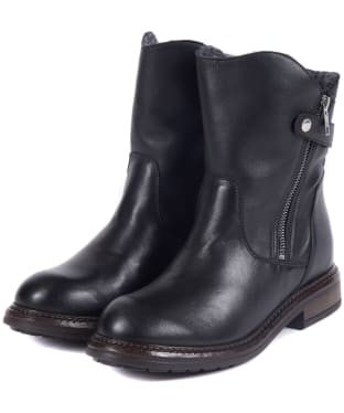 Women's Barbour International Costello Boots - Black