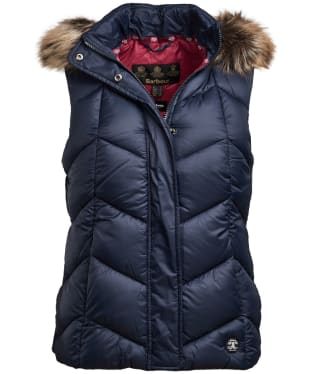 Women's Barbour Downhall Gilet - Navy