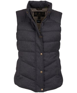 Women's Barbour Meadow Gilet - Taupe Herringbone