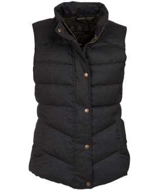 Women's Barbour Meadow Gilet - Olive Herringbone