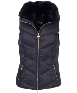 Women's Barbour International Nurburg Gilet - Black