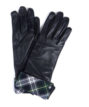 Women's Barbour Icons Lady Jane Gloves - Black