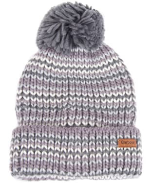 Women's Barbour Dene Pom Beanie - Monochrome