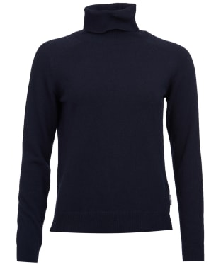 Women's Barbour Pendle Roll Neck Sweater - Navy