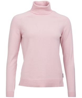 Women's Barbour Pendle Roll Neck Sweater - Rose