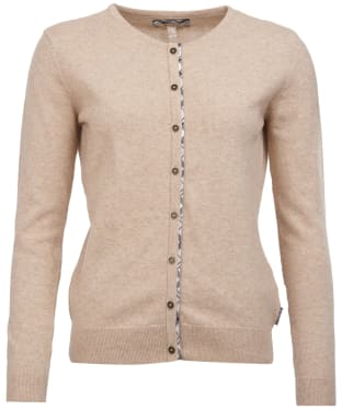 Women's Barbour Pendle Cardigan - Caramel