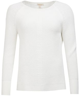 Women's Barbour Stirling Knit Sweater - Off White