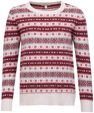 Women's Barbour Peak Knit Sweater - Off White