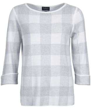 Women's Barbour Glenn Knit Sweater - Cloud