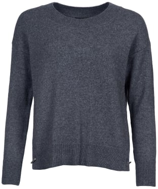 Women's Barbour Morag Knit Sweater - Anthracite