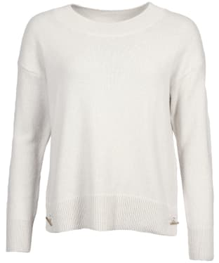 Women's Barbour Morag Knit Sweater - Cloud