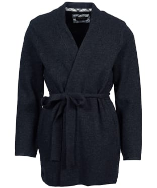 Women's Barbour Skye Knit Cardigan - Anthracite