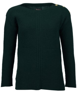 Women's Barbour Heath Knit Sweater - Thyme Marl