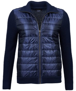 Women's Barbour Shannon Knitted Jacket - Dark Navy