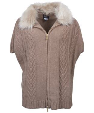 Women's Barbour Beresford Cape - Mink Marl