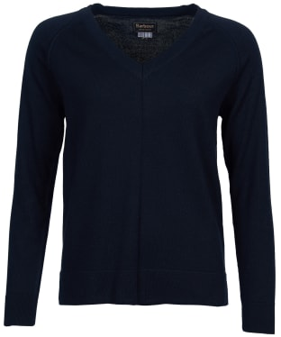 Women's Barbour Lomond Knit Sweater - Navy