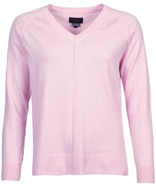 Women's Barbour Lomond Knit Sweater - Soft Azalea