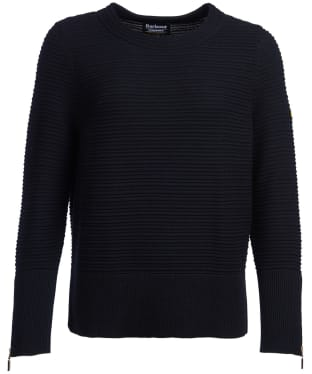 Women's Barbour International Garrow Knit Sweater - Black