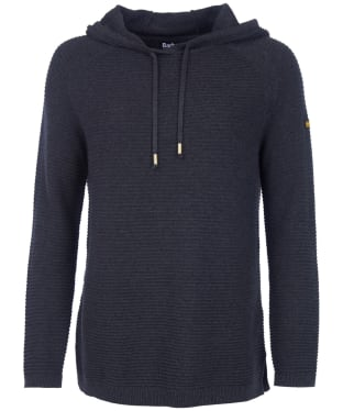 Women's Barbour International Doran Knitted Hoody - Anthracite
