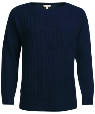 Women's Barbour Stokehold Knit - Navy