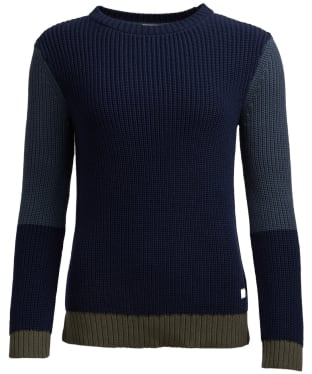 Women's Barbour Fell Knit Sweater - Navy