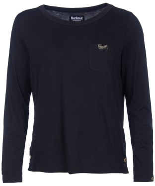 Women's Barbour International Garrow Top - Black