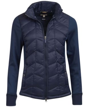 Women's Barbour Winifred Sweater Jacket - Navy
