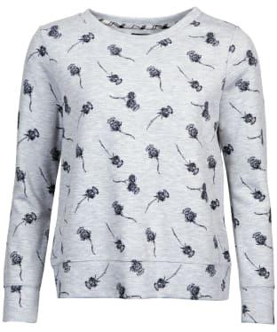 Women's Barbour Lomond Sweatshirt - Grey Marl